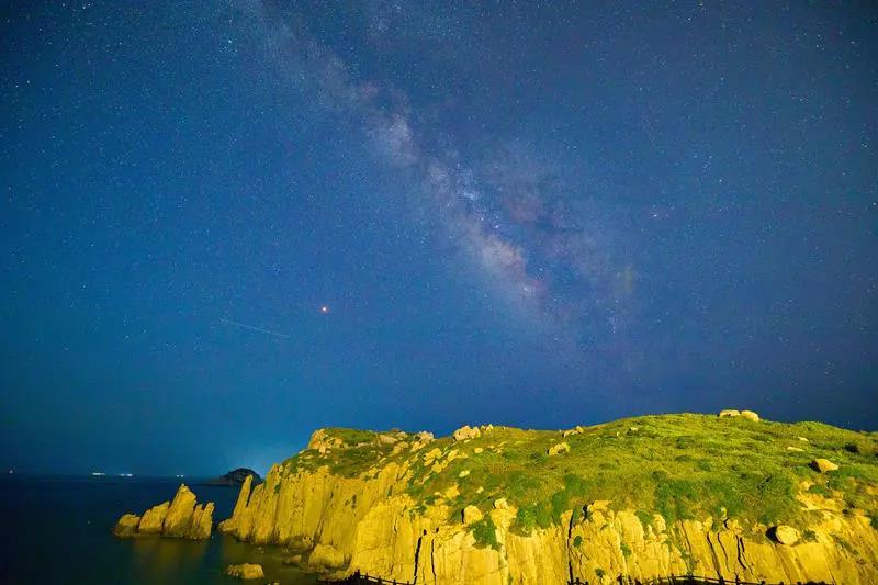 南麂岛媲美圣托里尼,人少景美